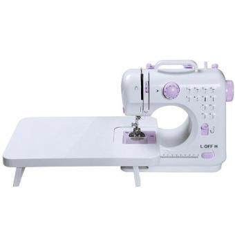 FSHM-505A Pro Upgraded 12 Sewing Options Mini Portable Handheld Sewing Machine With Extension Board (Purple)