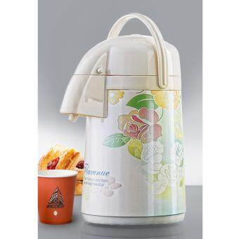 Harga Glance 2.5L Foral Design Hot And Cold Air Pot