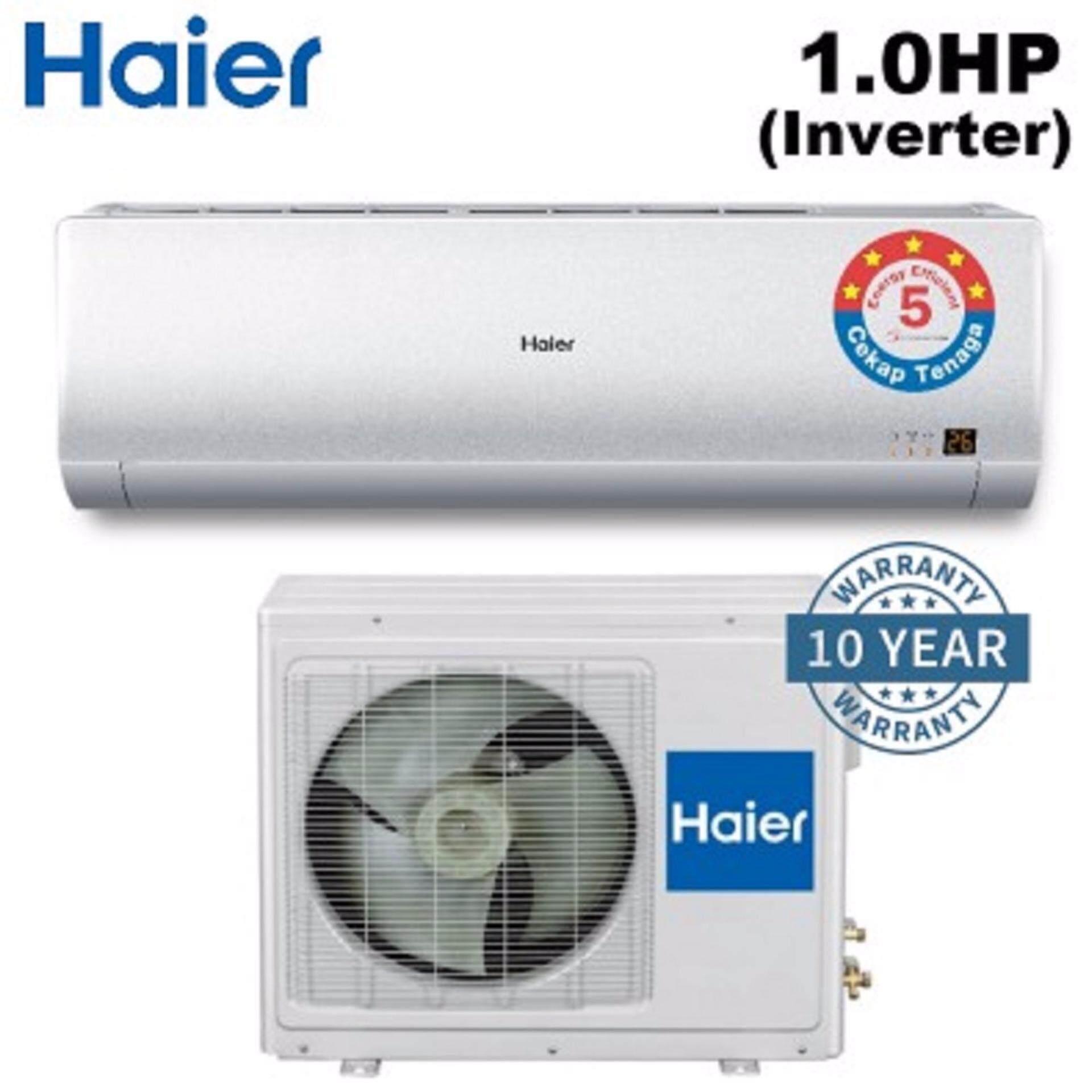 HAIER 1.0HP AIR CONDITIONER HSU-10VNH16