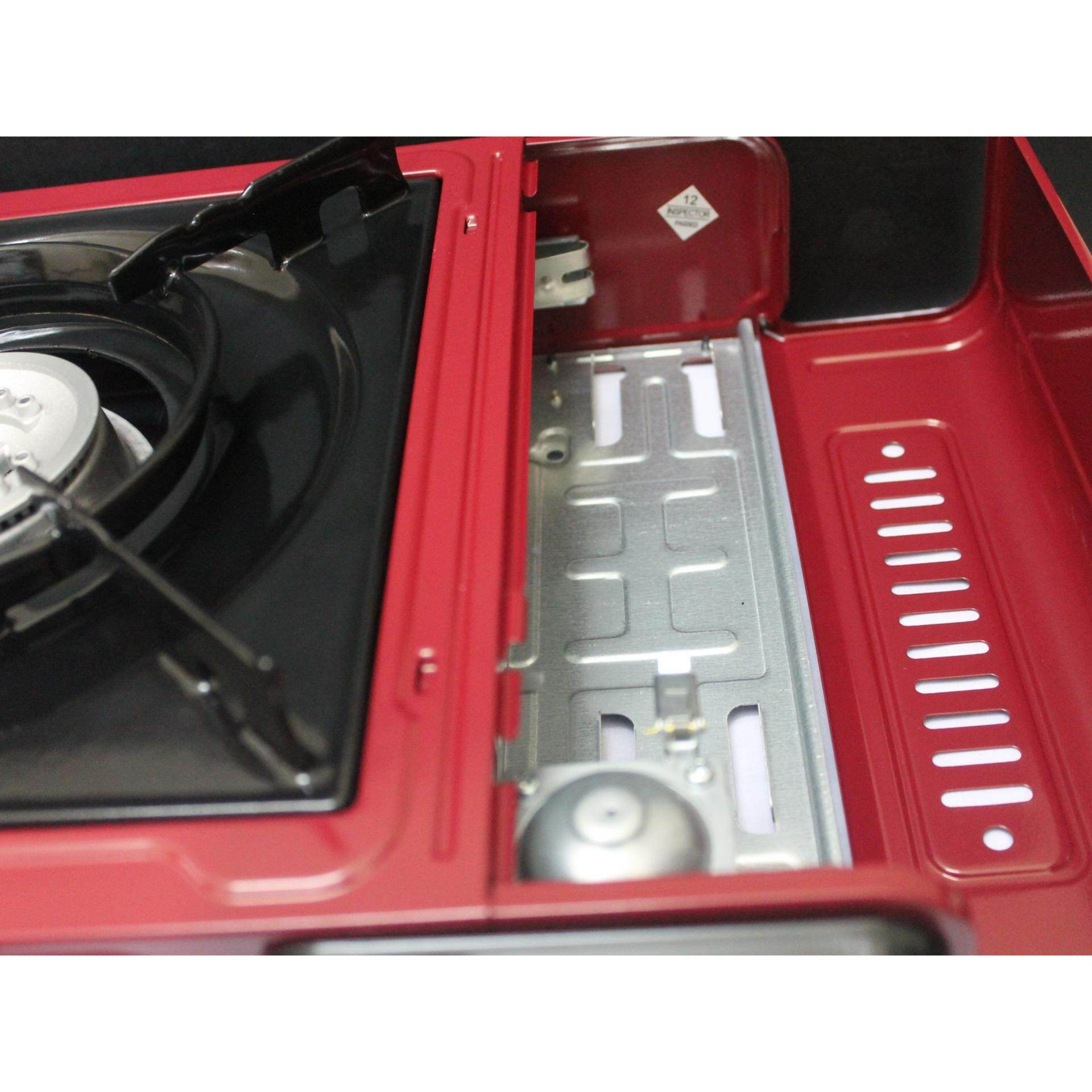 1 pc Kitchen Portable Gas Stove FREE Butang Gas (Red)