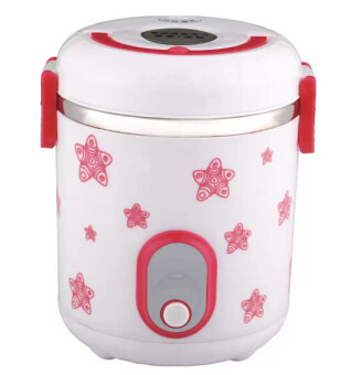 Harga 1L Mini Electric Rice Cooker New Water Steaming Technology - Red