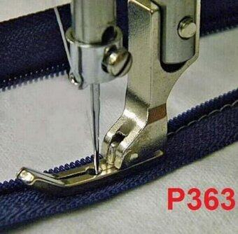 Harga Narrow Zipper foot P363 (Silver)