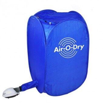 Harga New Air-O-Dry Portable Electric Clothes Dryer Bag (Blue)