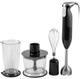 Harga Freemarket 4 Pieces Set Stainless Steel High Quality Multifunctional Hand Blender Mixer