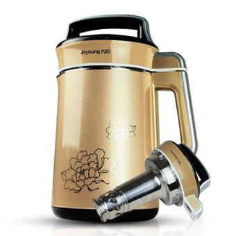 Harga Joyoung DJ13B-C630SG 220V 180W Stainless Steel Soymilk Juice Extractor 1300ml Stereo Surround Heating (Gold)