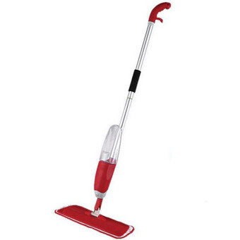 Harga Spray Mop with Microfiber Mop(Red)