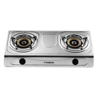 Harga Faber 2 Burner Stainless Steel Gas Cooker FS 1222