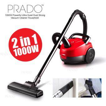 Harga PRADO 1000W Powerful Ultra Quiet Dust Strong Vacuum Cleaner Household