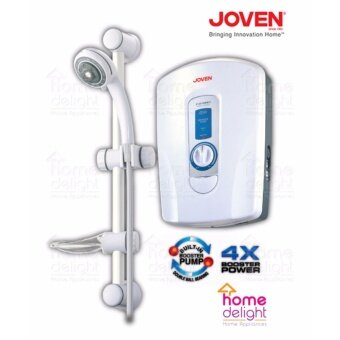 Harga Joven 830i Instant Water Heater Shower with Pump (WHITE)