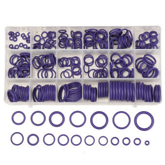 Harga 225Pcs Seal O-ring R134a R22 Air Conditioning O-Ring Rubber Washer Assortment PL