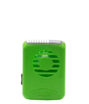 Harga O2COOL DELUXE NECKLACE FAN - GREEN