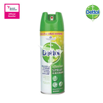 Harga Dettol Antibacterial Germicidal Hygiene Liquid Disinfectant Spray Morning Dew 450ml - 0172131