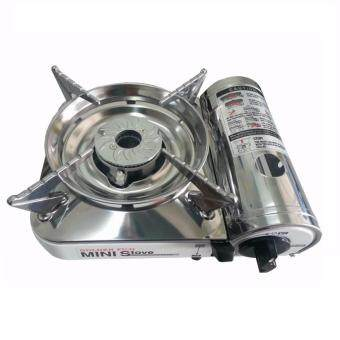 Harga GOLDEN FUJI GF-9000 PORTABLE MINI GAS STOVE (SS)