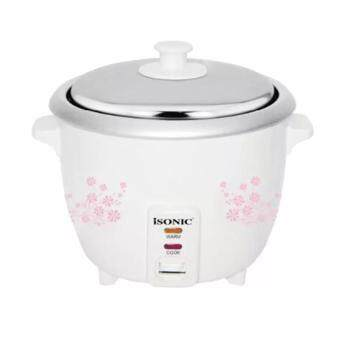 Isonic Rice Cooker 1.0l Removable non-stick ISO IRC 1007