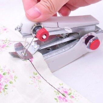 JinGle New Mini Multifunction Home & Travel Portable CordlessHand-held Sewing Machine