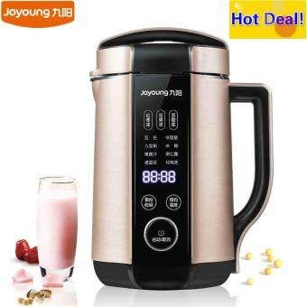 Harga Joyoung DJ13E-Q8 High Quality Automatic Soymilk Maker 1300MLCapacity More Thicker Soybean Milk Machine (GOLD)