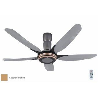 "Harga KDK 60"" V-Touch Ceiling Fan K15Y2-CO (Bronze)"