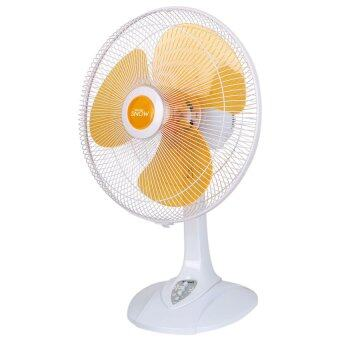 "Harga Khind 16""Table Fan TF1612 (Orange Color)"
