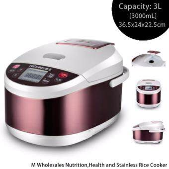 Harga M Wholesales Nutrition,Health and Stainless Rice Cooker (3L,700W)