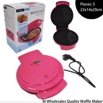 M Wholesales Quality Waffle Maker (PINk)
