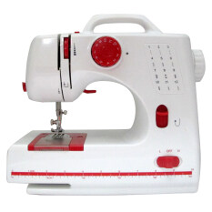 Maidronic Sewing Machine PRO 505 12 sewing options (Red)