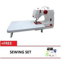Maidronic Sewing Machine PRO 505 12 sewing options With Expansion Board (Red) FREE SewingSet
