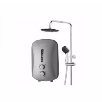 Harga Midea Rain Shower Water Heater MWH-38P3-RS with DC Silent Pump