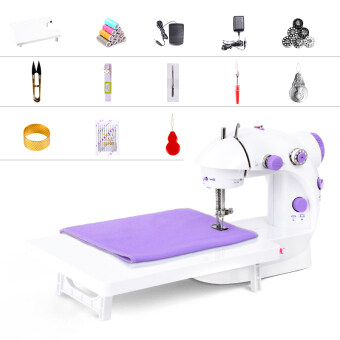 Harga Ming sew 202 multifunctional eat thick mini sewing machinehousehold sewing machine electric desktop sewing machine minisewing machines