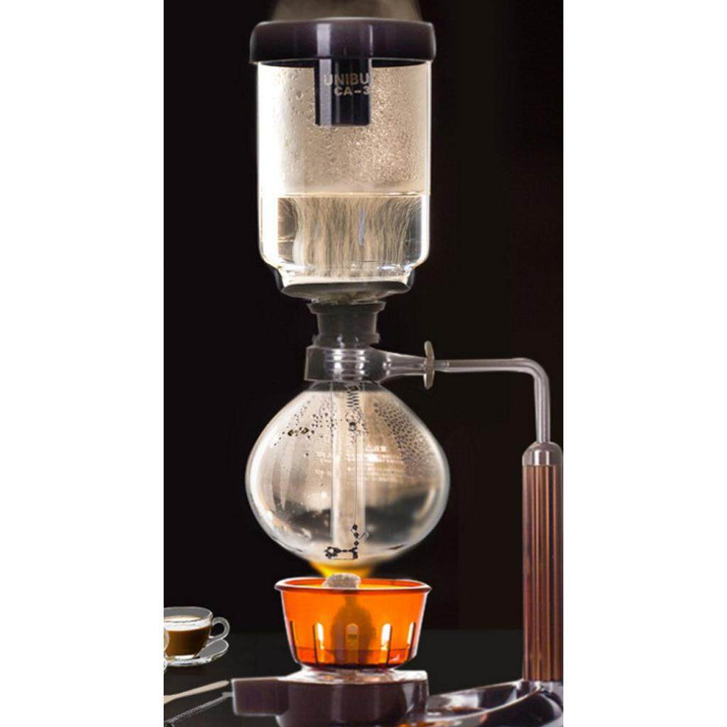 Worcas Premium Coffee Syphon Maker Tca 2 240ml Cups6 Hario Nouveau Nca 3 Miracle Shining Glass Tabletop Equipment Vacuum Brew Stove Intl