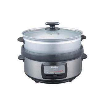 Harga (New ) Elba 5L Non Stick Multi Cooker EMC-F4316(SS )