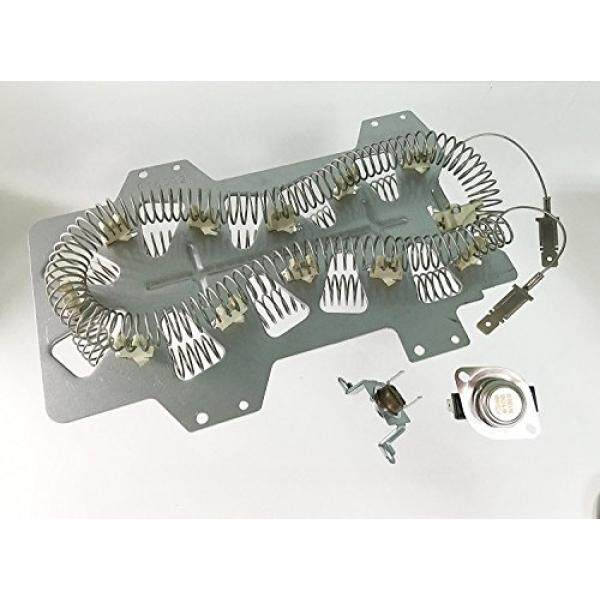 Package of DC47-00019A & DC47-00018A & DC96-00887A for SAMSUNG Dryer Heater Element - intl
