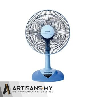 Harga Panasonic 300mm (12 inch) 3-Speed On/Off Table Fan F-MN304 (Aqua Blue)