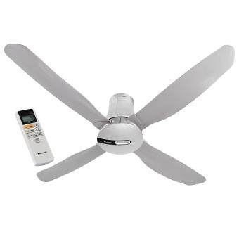 Panasonic Econavi 4-Blade 1400mm (56 inch) F-M14HW Ceiling Fan (Platinum Silver) with Onsite Warranty by Panasonic Malaysia