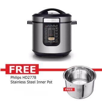 PHILIPS PRESURE COOKER6.0L HD-2137 -*free BOWL WARRANTY BY PHILIPS MALAYSIA