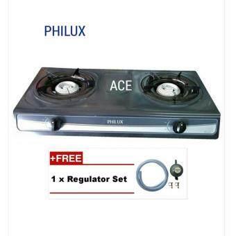 Philux PH-28 Epoxyl Double Burner [FREE 1 X GAS REGULATOR SET]