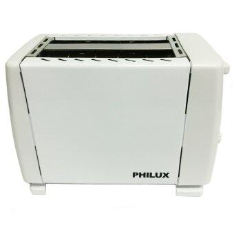 Philux PL 02 2 Slices Bread Pop Up Toaster White