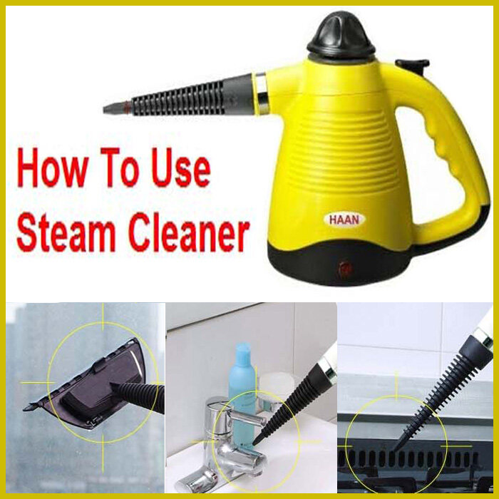 Portable Steam Cleaner HAAN HS 101Y | Lazada Malaysia