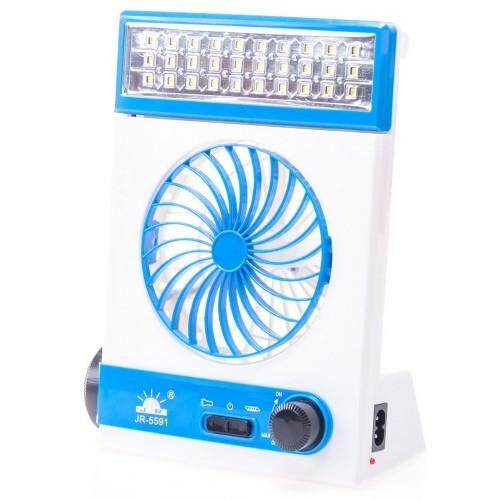 Rechargeable LED Lamp With Fan