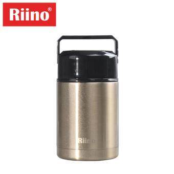 Harga Riino 1000ML Thermal Pot Stainless Steel Portable Cooker Thermo(Gold)