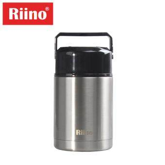 Harga Riino 1000ML Thermal Pot Stainless Steel Portable Cooker Therm(Silver)