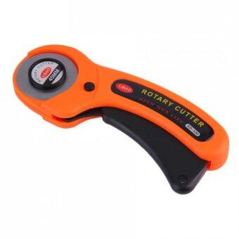 Rotary Cutter Fabric Cutting Sewing Quilting Crafts Tool 45 mm (Orange)