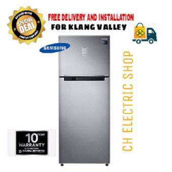 SAMSUNG 2 DOOR REFRIGERATOR 520L (SILVER) - RT43K6271SL/ME (FREE DELIVERY AND INSTALLATION)