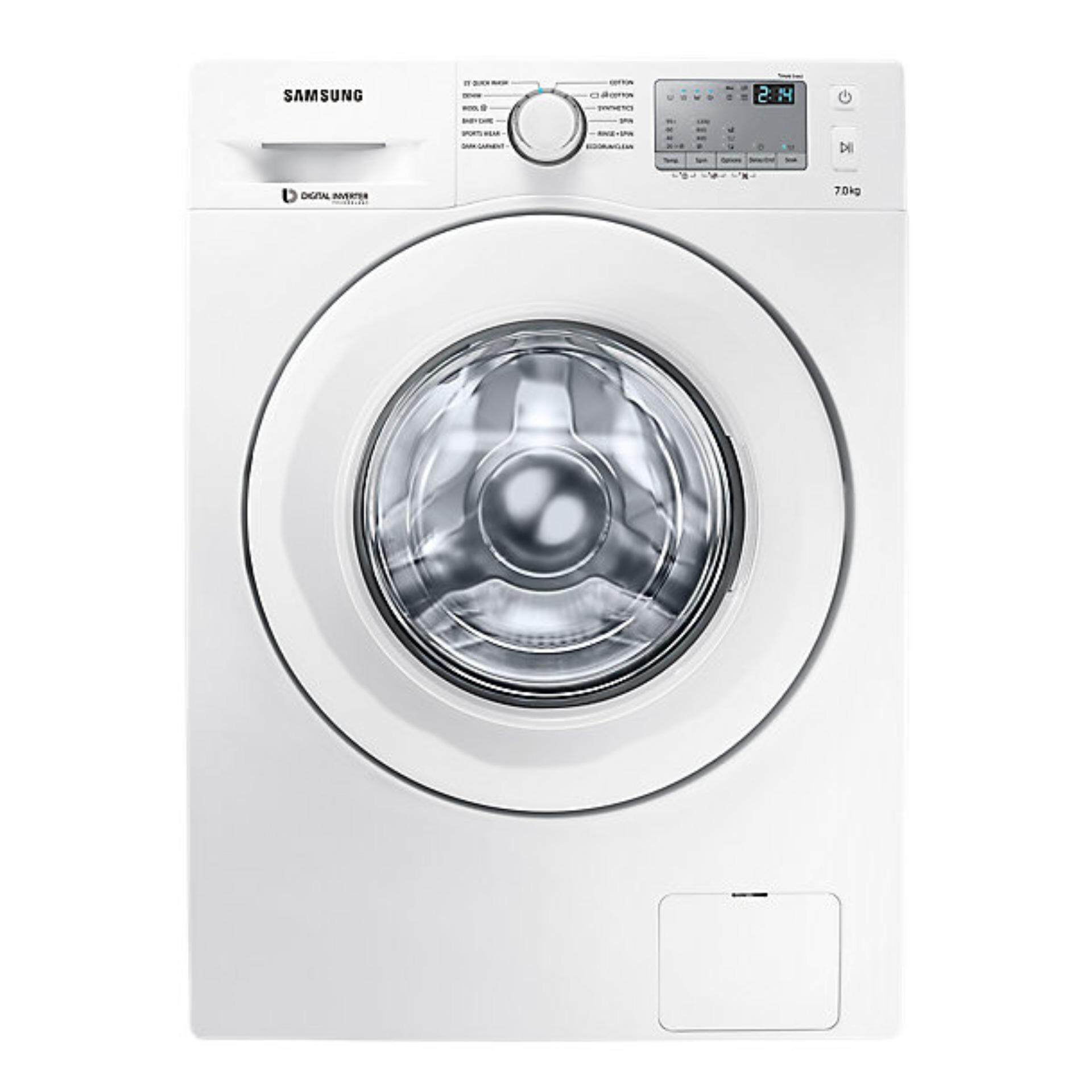 SAMSUNG FRONT LOADING WASHING MACHINE (7KG) WW70J4233KW/FQ