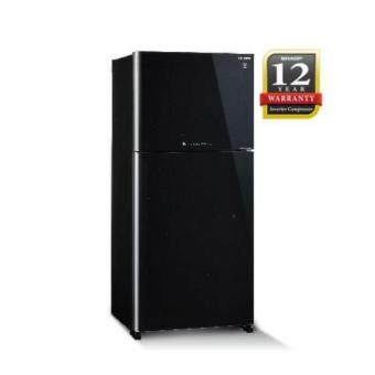Sharp Pelican Series J-Tech Inverter Refrigerator 720L SJP80MFMK Black