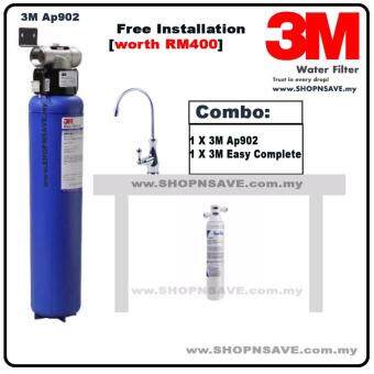 SHOPNSAVE Combo: 3M AP902 outdoor water filter + 3M Ap Easy Complete under counter water system, 3m water filter