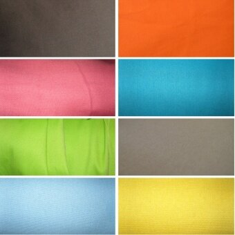 Solid color custom windows and pad curtain cushion Cotton