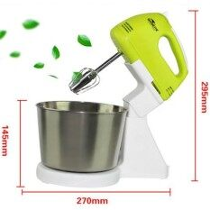 Stand Mixer With Stainless Steel Bowl Use As Hand Mixer