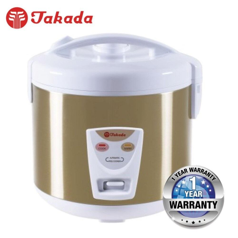 Takada Cfxb 180a Non Stick Rice Cooker With Stainless Steel Body 1 8l Capacity