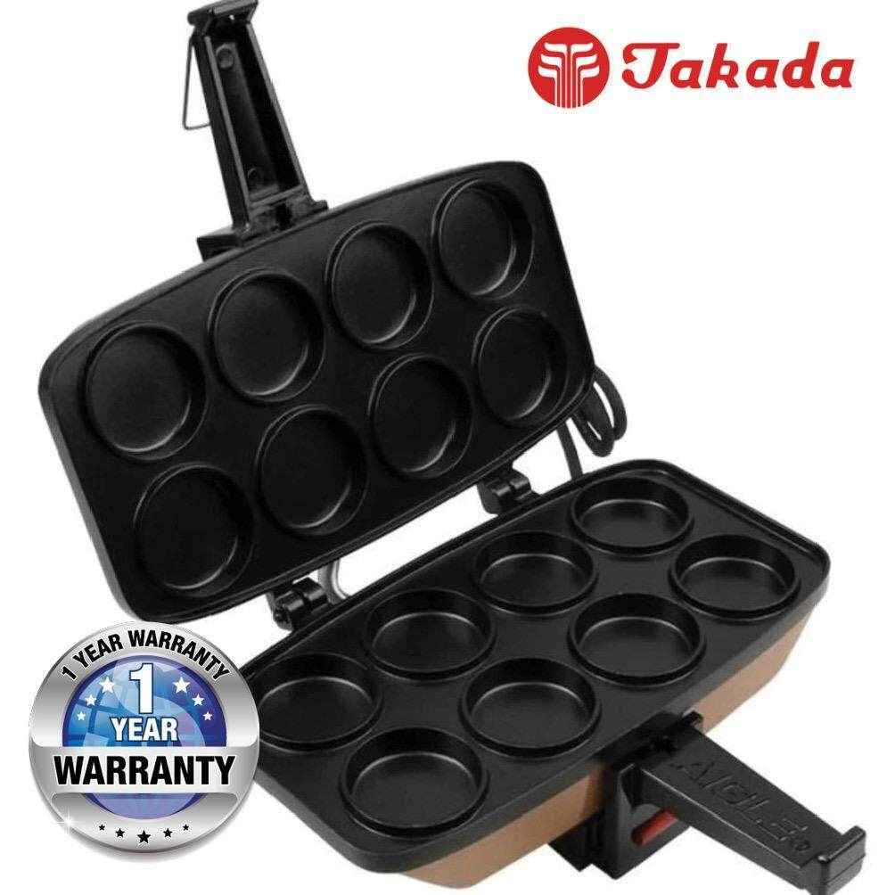 Takada TK-L18 Pancake Maker with 8 Mold