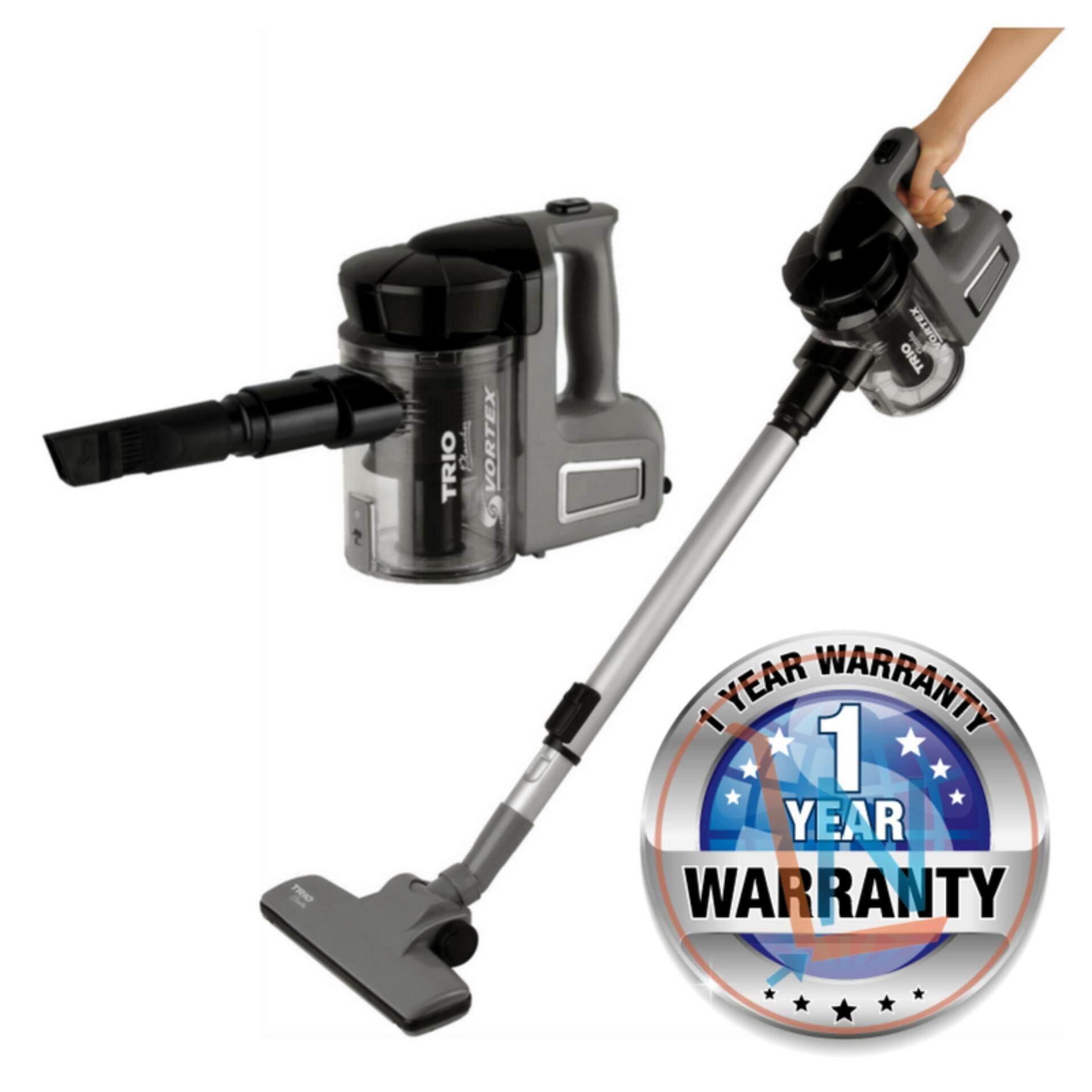 TRIO THC-627 2-in-1 Handheld Vacuum Cleaner (Black/Grey)